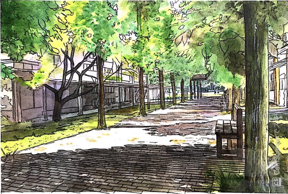 「【初心者向け】東京藝大日本画科出身の作家が教える風景画を描くポイント7選」のアイキャッチ画像